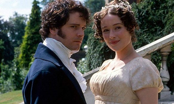 BBC miniseries-Colin Firth and Jennifer Ehle in Pride and Prejudice