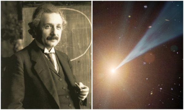 Albert Einstein and Light