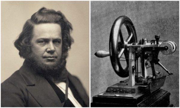 Elias Howe and Sewing Machine