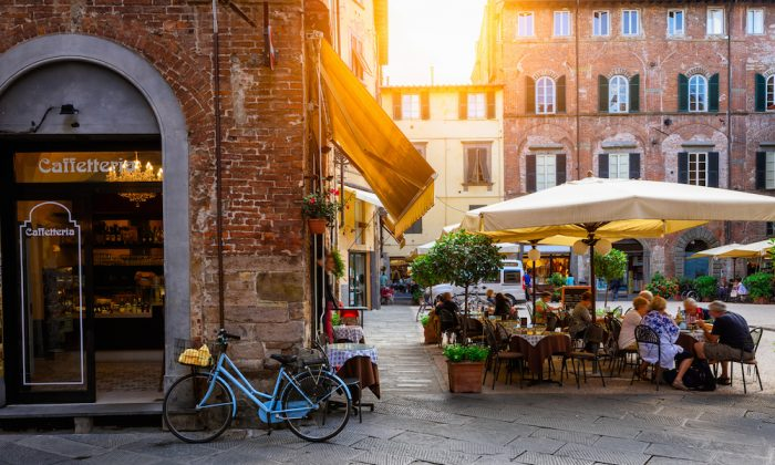 Old cozy street in Lucca, Italy. Lucca is a city and comune in Tuscany. It is the capital of the Province of Lucca. (Shutterstock)