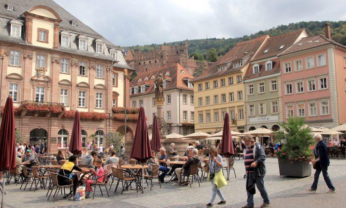 Heidelberg Market Square. (Wibke Carter)