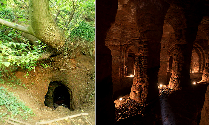Rabbit Hole in Farmer's Field Leads to Mysterious Cave Network