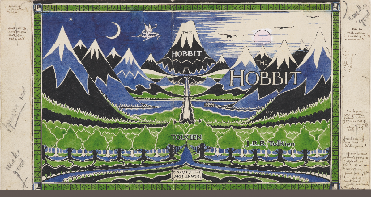 Book cover for The Hobbit