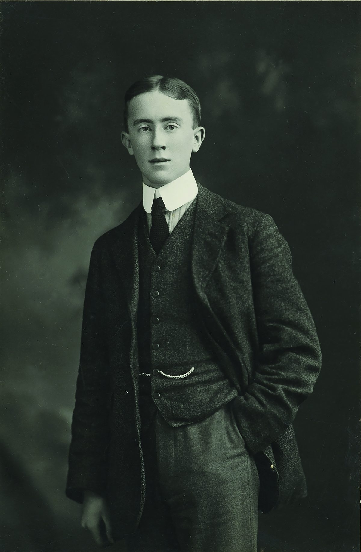 Tolkien as a young man