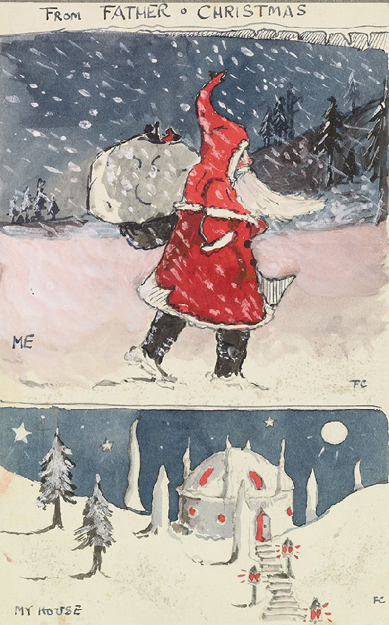 Father Christmas by Tolkien