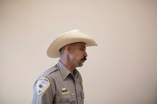 Cibola County Sheriff Tony Mace