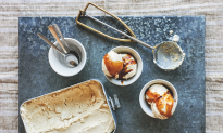 Ballymaloe Coffee Ice Cream With Irish Coffee Sauce