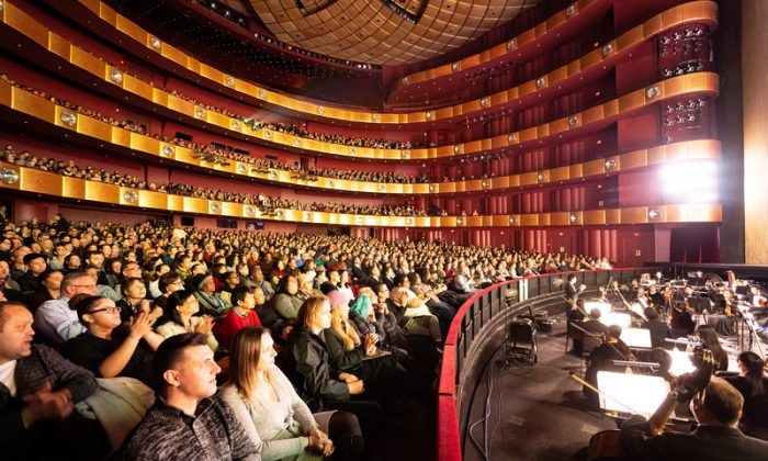 Shen Yun Performing Arts opening night at Lincoln Center on March 6, 2019. (The Epoch Times)