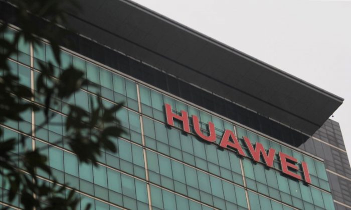A Huawei logo is pictured at the headquarters of the Chinese telecommunications equipment and smartphone maker in Shenzhen, Guangdong Province, China on March 6, 2019. (Yuyang Wang/Reuters)