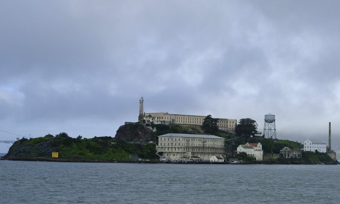 Alcatraz Island is seen in San Francisco on March 6, 2019. Archaeologists have confirmed a long-time suspicion of historians: the famed Alcatraz prison was built over a Civil War-era military fortification. (Eric Risberg/AP Photo)