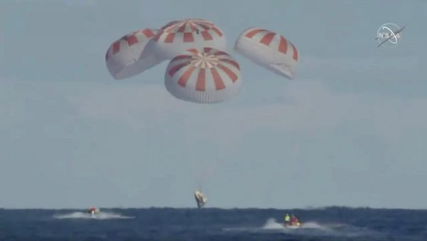 SpaceX NASA Mission Completed