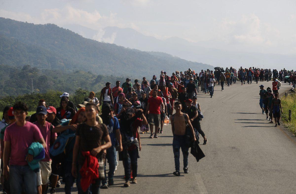 migrant caravan