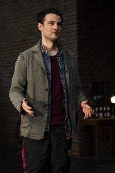 Alex (Tom Sturridge) in Sea Wall