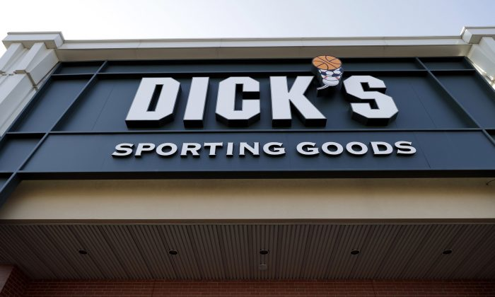 Dick's Sporting Goods store in Arlington Heights, Ill., on Feb. 28, 2018. (AP Photo/Nam Y. Huh, File)
