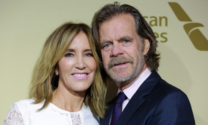 Felicity Huffman (L) and William H. Macy attend The Hollywood Reporter and SAG-AFTRA Inaugural Emmy Nominees Night, Beverly Hills, Calif., on Sept. 14, 2017. (Rich Fury/Getty Images)