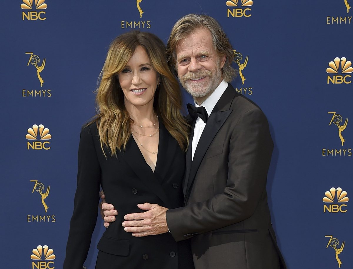Felicity Huffman and William H  Macy 1200x915