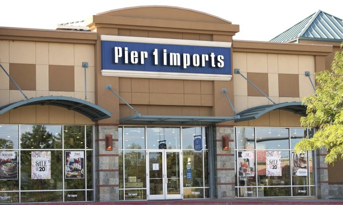 FILE PHOTO: The Pier 1 Imports store is seen in Broomfield, Colorado September 17, 2014.  REUTERS/Rick Wilking