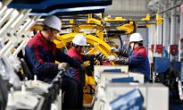 China Industrial Output Growth Falls to 17-Year Low