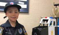 6-Year-Old Girl Battling Cancer Becomes a Police Officer in Texas, a Dream Fulfilled