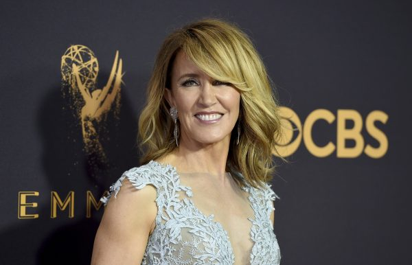 Actress Felicity Huffman at the 69th Primetime Emmy Awards in L.A.. on Sept. 17 2017