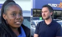 Car Dealership Customer Notices Woman Crying and Ends Up Giving Her a Free Car