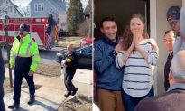 30 Firemen Show Up at Couple's Doorstep for Surprise Delivery: A 'Blessing of a Lifetime'