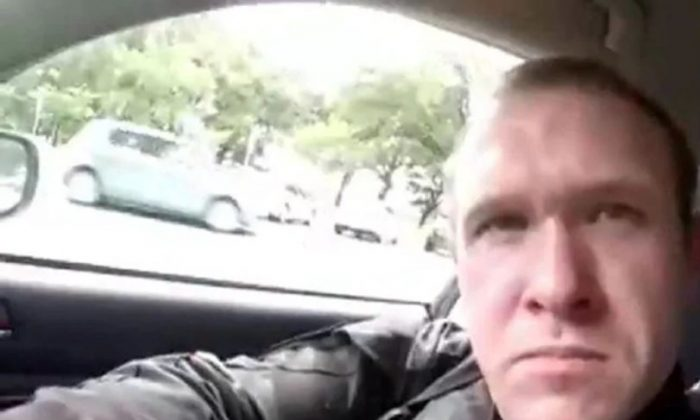 Brenton Tarrant, one of the suspected shooters in the New Zealand mosque shootings, allegedly streamed the attack live on Facebook on March 15, 2019. (Screenshot)