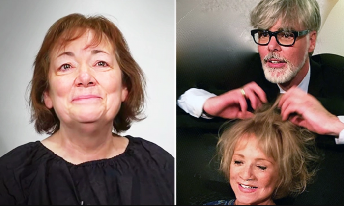 Woman Divorced After 44-Year Marriage Undergoes Amazing Transformation from the Makeover Guy