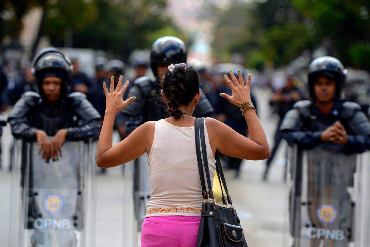 Venezuela crisis-protest