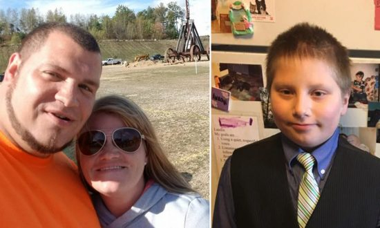Dad Passes Out in Front Yard, Quick-Thinking 4th-Grade Son Performs CPR to Save His Life