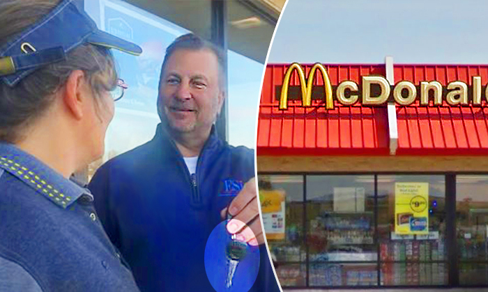 McDonald's Customer Thanks Always-Cheerful Employee in Need with New Car, and Her Reaction Is Beautiful