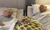 Elderly Couple Passes Away 90 Minutes Apart Hand-in-Hand on Their Deathbeds