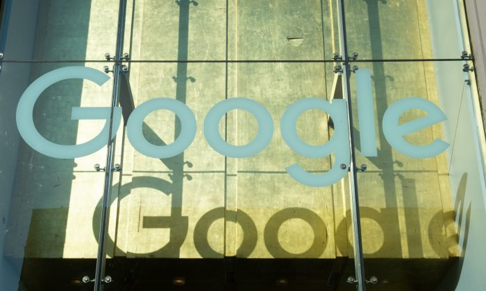 Google on November 1, 2018, in New York. (Photo by Bryan R. Smith / AFP)        (Photo credit should read BRYAN R. SMITH/AFP/Getty Images)