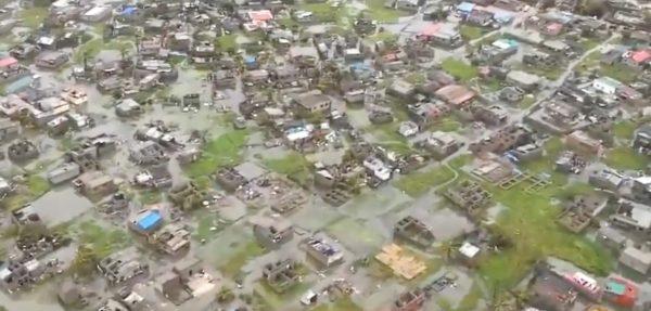 flooding Mozambique