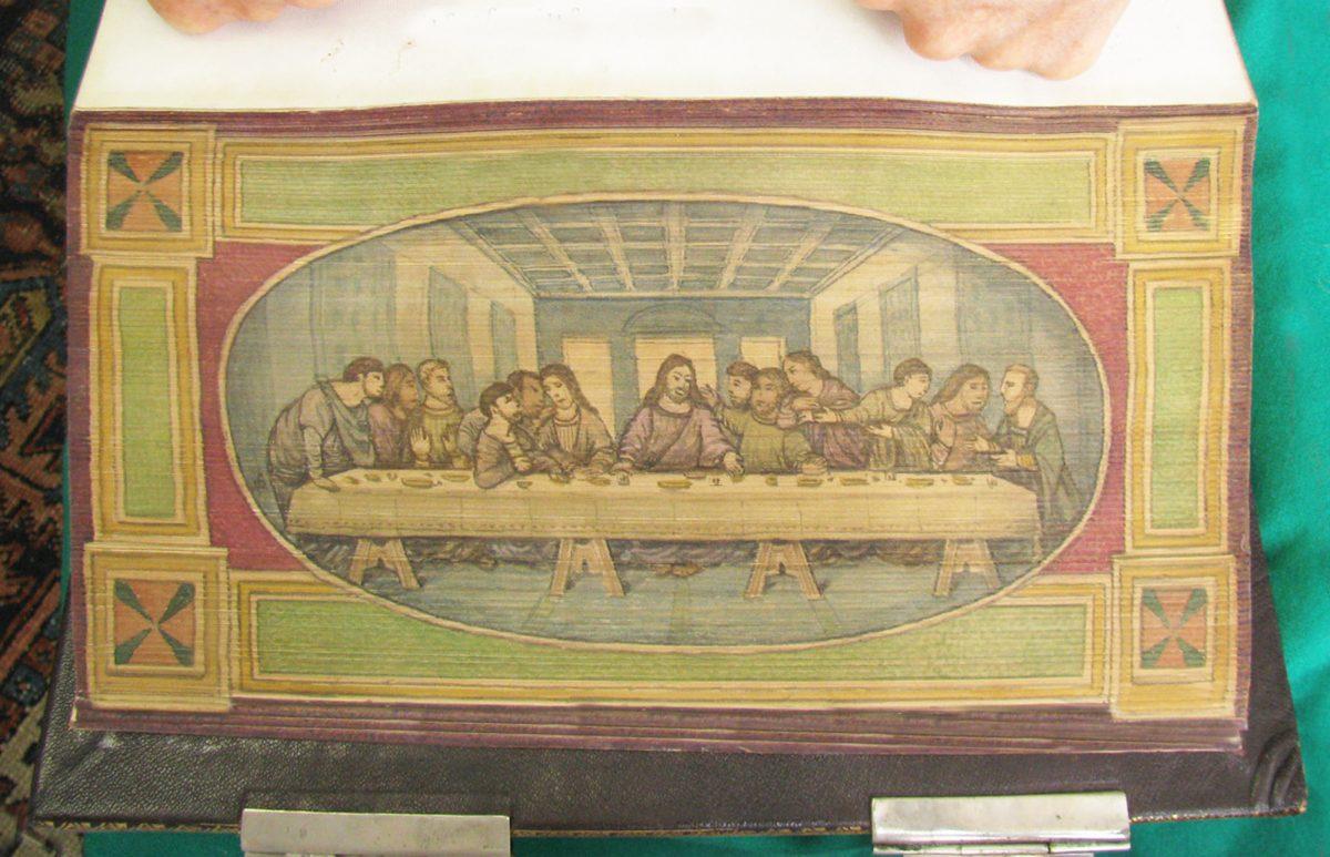 Painting Leonardo da Vinci Last Supper