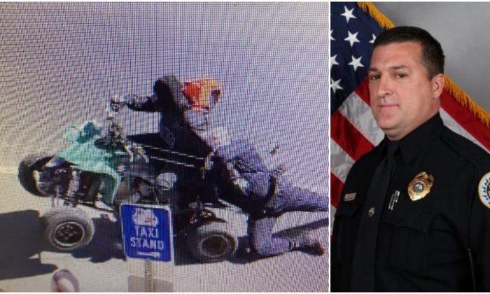 4-Wheeler Drags Police Officer Through Nashville Street