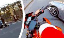 Hero 'Santa' Steps in When He Spots Driver Hitting Elderly Man and Speeding Away