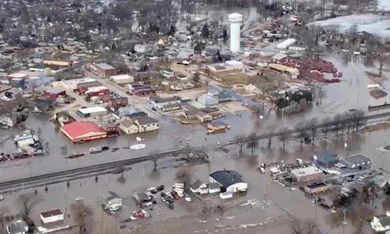 Nebraska Is Underwater: 74 Cities, 65 Counties Under State of Emergency