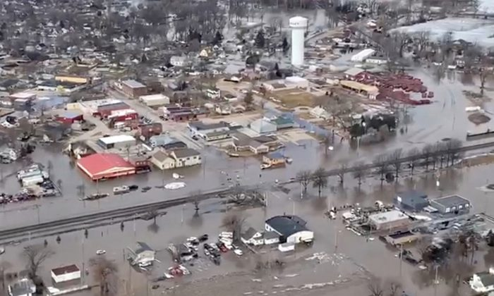 Nebraska Is Underwater: 74 Cities, 65 Counties Under State of Emergency