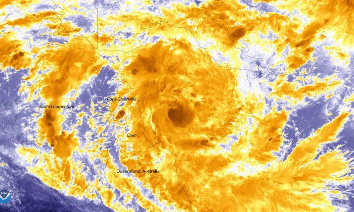 'Ferocious' Cyclone Trevor Hits North QLD
