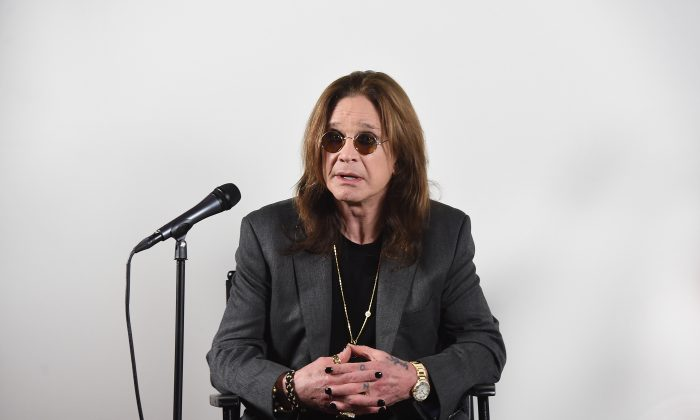 Ozzy Osbourne at home in Los Angeles, Calif., on Feb. 6, 2018. (Kevin Winter/Getty Images for Live Nation)