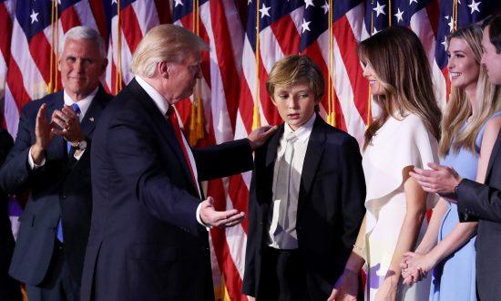 Happy Birthday! Trump's Youngest Son, Barron, Turns 13
