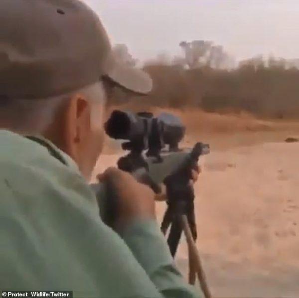hunter takes aim