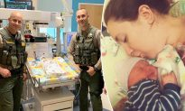 Cops Save 1-Week-Old Baby with CPR After She Stops Breathing at Shopping Mall