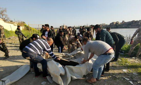 Ferry Capsize Kills Nearly 80 in Iraq's Mosul: Medics