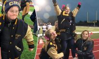 Girl with Down Syndrome Becomes Cheerleader, Wows Crowd with Her Positive Attitude