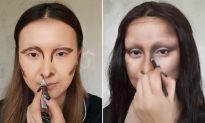 Viral Makeup Blogger Transforms into Famous Faces–Johnny Depp, Mona Lisa & More