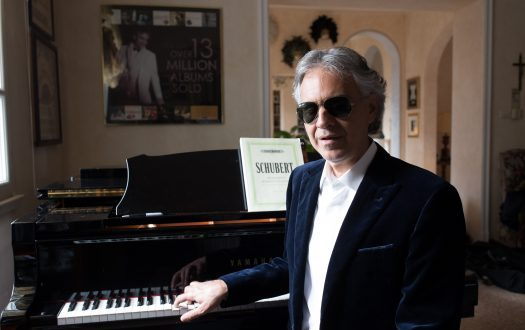 Singing With Love: Q&A With Andrea Bocelli