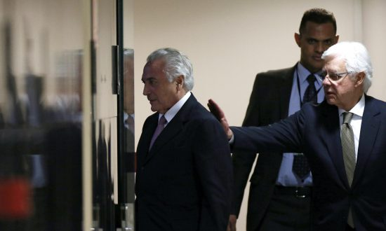 Brazil's Ex-President Temer Jailed, Accused of Heading 'Criminal Organization'