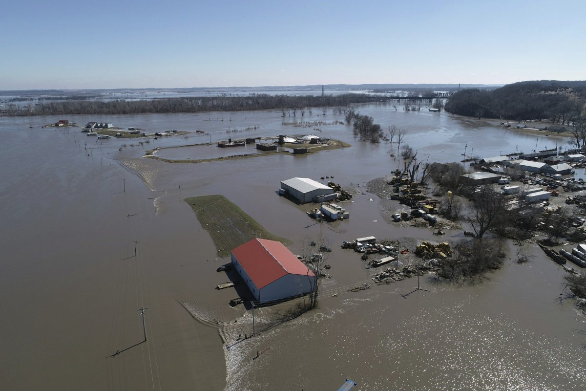 Nebraska Governor: Worst flooding damage in our state's history